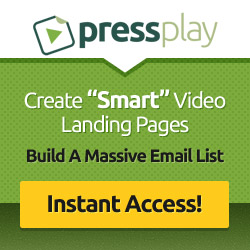 PressPlay Video Landing Page Templates